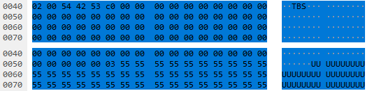 Esys device packets